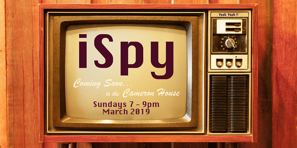 iSpy Residency at the Cameron House March 2019