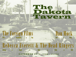 The Dead Ringers back at the Dakota!