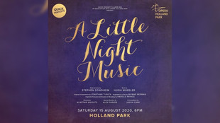 Janie Dee, Jo Riding, Fra Fee, Nadim Naaman in A Little Night Music