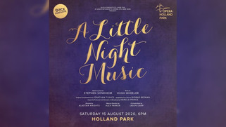 Janie Dee, Jo Riding, Fra Fee, Nadim Naaman in A Little Night Music