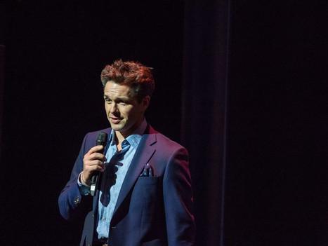 Host Julian Ovenden