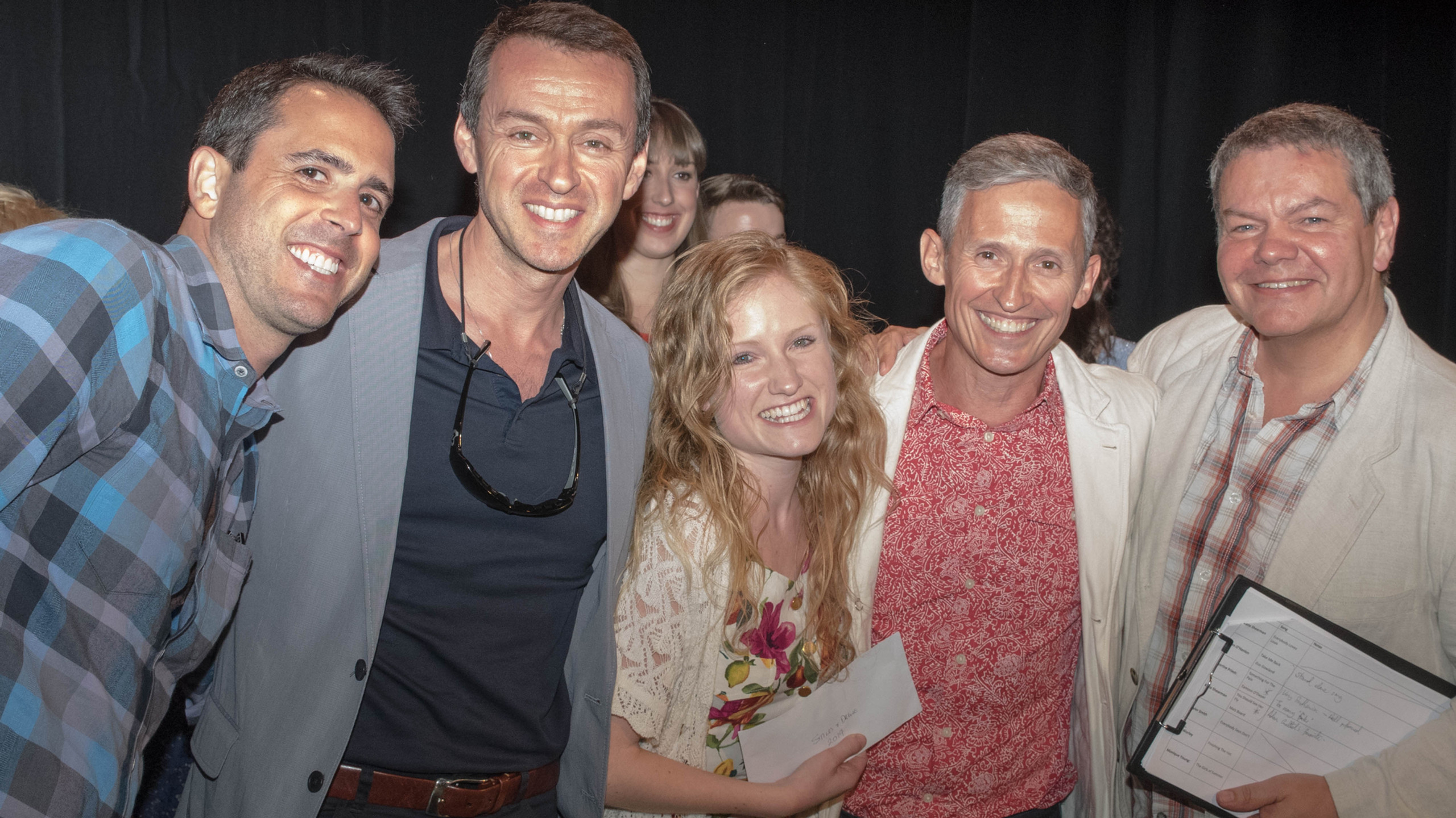 Scott Alan, Andrew Lippa, Tamar Broadben