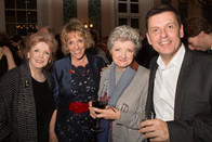 Millicent Martin, Esther Rantzen, Julia McKenzie & Bill Deamer (director/choreographer)