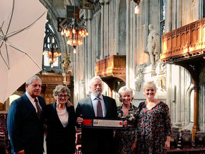 Sondheim receives Freedom of the City of London