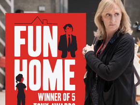 Society Patron Jenna Russell in FUN HOME