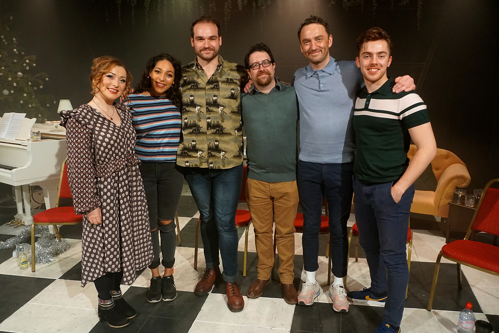 The cast of Putting It Together © Craig Glenday/Stephen Sondheim Society