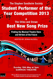 Sondheim Society Student Performer of the Year