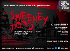 Aged 12–19? Then Sweeney needs YOU!