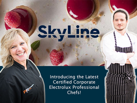 We are now: Certified Corporate Electrolux Professional Chefs!