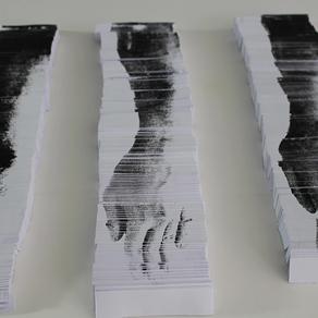 Eszter Sziksz. printmaking, performance, installation.