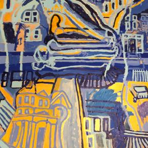 Christopher Santiago. painting, video, sound