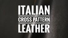 意大利十字紋皮革 | Lokyourheart 皮革專門店 | 香港寶琳