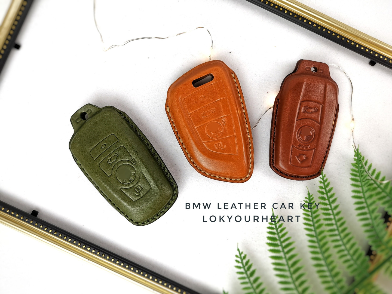 BMW  皮革車匙套