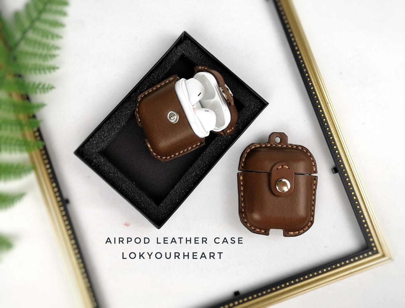 Air Pod 皮革套(簡易版)