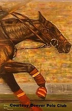 Denver Polo Club Oil Painting by artist BETS
