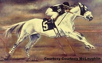 Horse Racing Painting by artist BETS