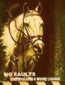 Equine Oil Portrait by artist BETS