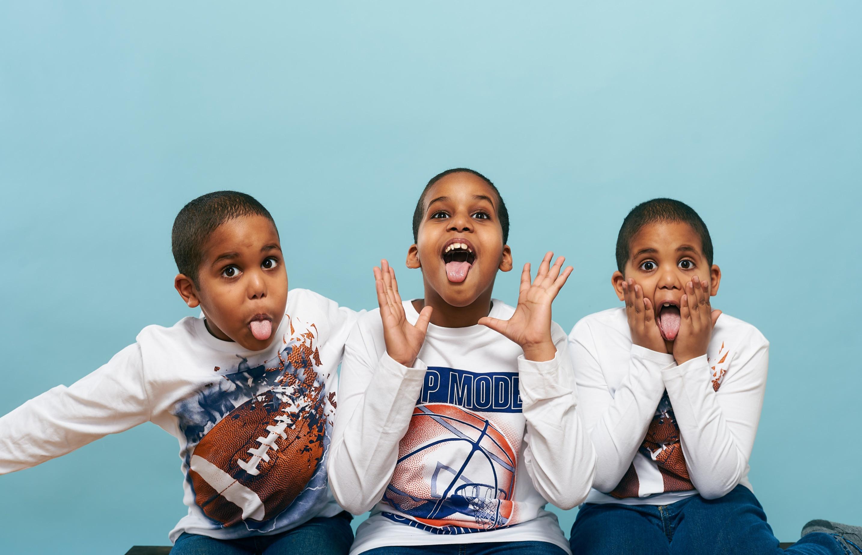 School Photo Shoot - 3 Kids