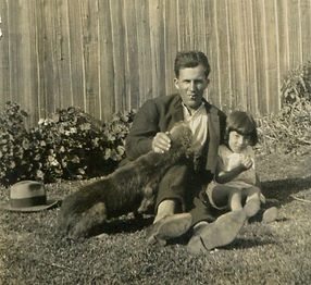 Cropped Gilda Bucky Dog and GPa.jpg