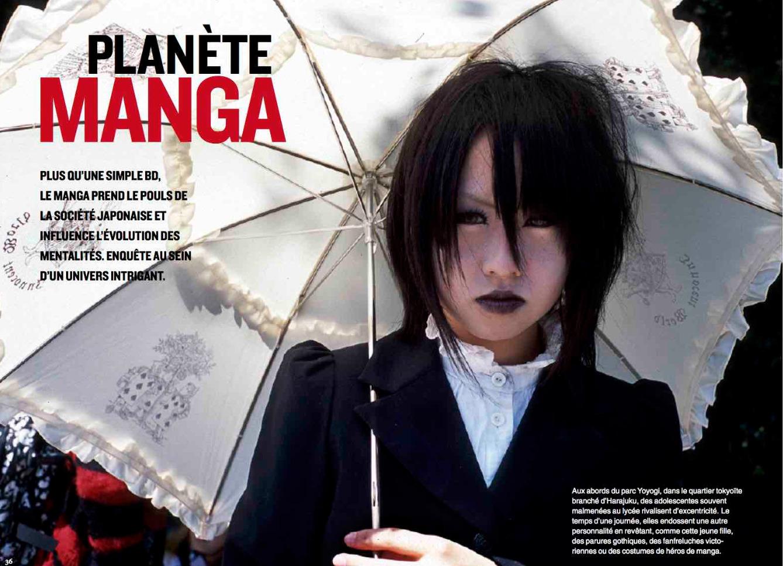 Planète manga au Japon