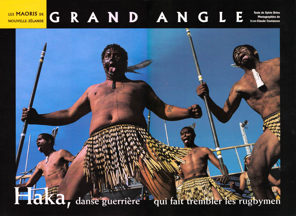Haka, danse guerrière des Maoris