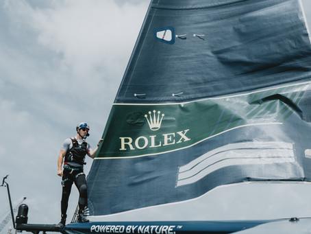 Capturing the USA Sail GP team in Bermuda