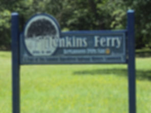 Jenkin's Ferry Battlefield Park Sign