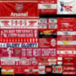 Arsena FC sport banners IMstudiomods
