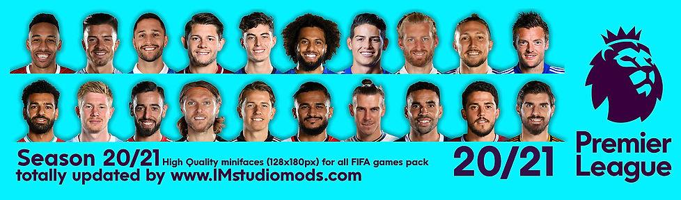 England Premier League-HQ portraits-IMst