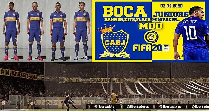 FIFA 20-FIFAXXIMs mod BOCA-IMstudiomods.