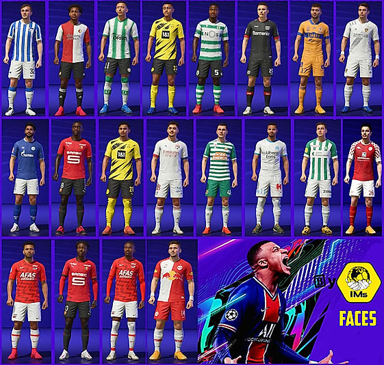 FIFA 21-patch faces mod FIFA 21-IMstudio