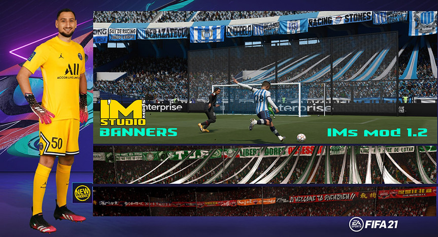 FIFA 21-BANNERS all CLUBS&NT-IMstudiomods