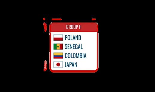 WC 2018 group H IMstudiomods