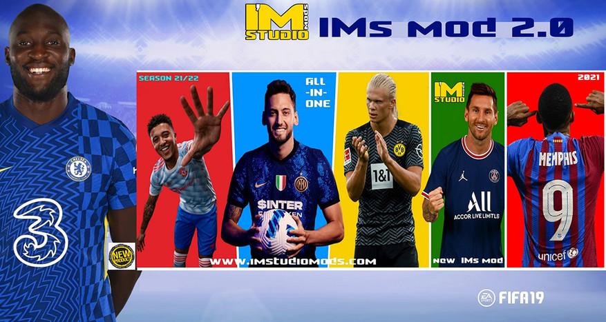 FIFA 19 new IMs mod season 21-22 2.0