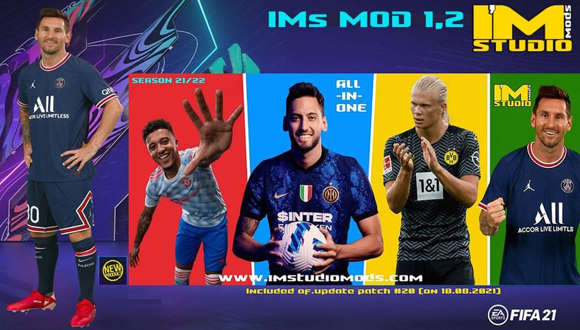 FIFA 21 mod--IMstudiomods-FIFA kits-season 21-22-IMs GRAPHIC mod-kits season 21/22