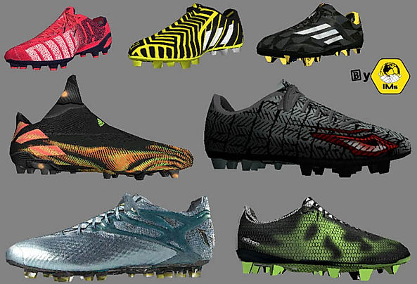 FIFA 14(FIFA 21) shoes pack-IMstudiomods
