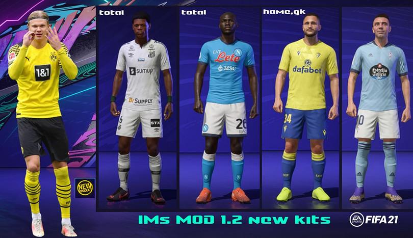 FIFA 21-KITS-IMs mod 1.2