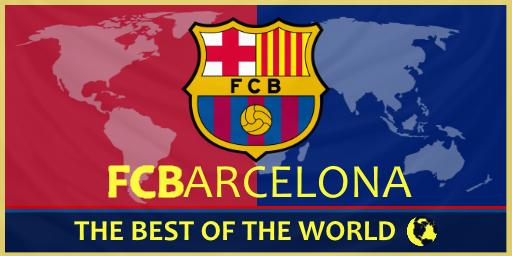 barcelona fc flag Best 2017