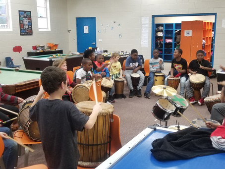Drumming program hits the right beat!