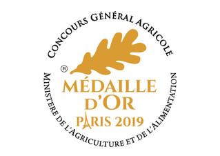 Médaille d'Or 2019