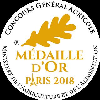 4 Médailles d'Or au Salon à Paris pour les Lucques et Picholines !!