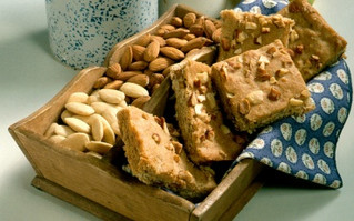 New Recipe Banana Almond Bar