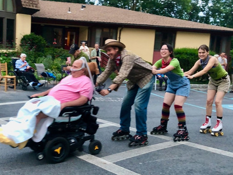 Roller Disco Party a Hit!!!