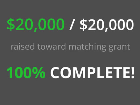 We Did It -100% Match!
