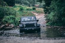 Colorado West Jeeps in creek