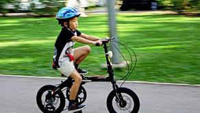 O aprendizado da bicicleta sem rodinhas