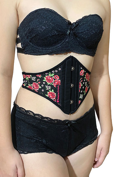 Valentine Body Belt Floral 2