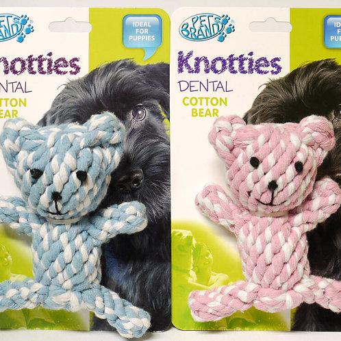 KNOTTIES TEDDY BEAR
