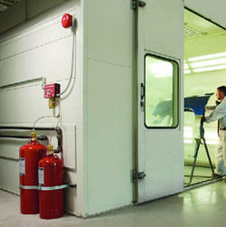 spray paint booth inspection