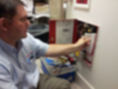Alarm System, Fire Alarm, Fire Extinguisher, Exit Light, Inspections